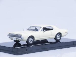 1/43 Scale model 1967 Mercury Cougar - Polar White