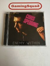 Chris Spedding, Enemy Within CD, Supplied by Gaming Squad