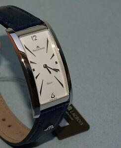 Maurice Lacroix Watch blu gold plates quartz Extra discounted!