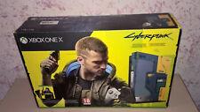 Microsoft Xbox One X Cyberpunk 2077 Limited Edition Bundle 1TB Console con Controller - Blu