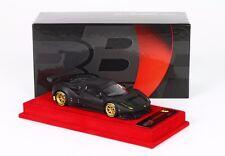 Ferrari 488 GTE Nero Opaco Ruote Oro BBRC179MB 1/43 LIMITED EDITION 24 PIECES