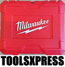 MILWAUKEE M18 2 TOOL CARRY CASE FOR M18BLPD DRILL & M18BLID IMPACT DRIVER
