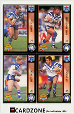 1994 Dynamic Rugby League Series 1 Embossed Gold Card G4 Mark Coyne
