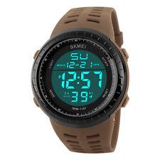 Sports Men Men's Waterproof Wristwatch 50M Dive Swim LED Digital Watch