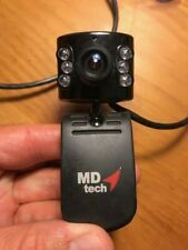 MD Tech Webcam PC video audio Clip on Posable small