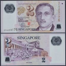 SINGAPORE P46a***2 DOLLAR POLYMER***ND2005***UNC GEM***SEE FULL DESCRIPTION