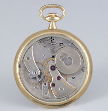 Edouard Koehn extraflache Genfer Taschenuhr extrem reduziertes Werkdesign 1905