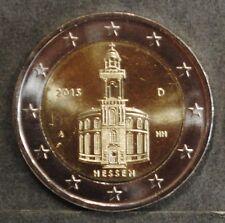 2 euro commémorative Allemagne 2015  Hessen