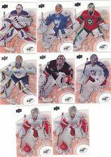 14/15 Upper Deck Ice Goalie Card Sergei Bobrovsky #72 Blue Jackets 2014/15