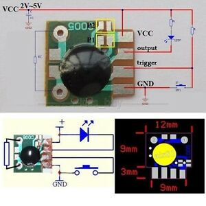 Delay Trigger Timing Chip Module Multi function Timing 2s - 1000h Timer IC OZ