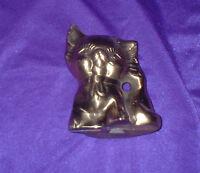 BRASS KITTY CAT PAPER WEIGHT STATUE / FIGURE