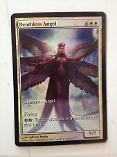 MTG DEATHLESS ANGEL - ANGELO IMMORTALE TEXTLESS  PROMO FOIL  MINT INGLESE