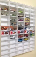 Hot Wheels Matchbox Tomica Majorette Concealed Mount Wall Hung Display Case