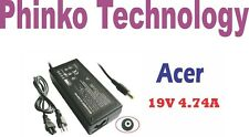New Adapter Charger for ACER Extensa 2300 2303 2950 3000