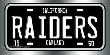 Oakland Raiders Football NFL  License Plate Vanity Auto Tag Fathers Day