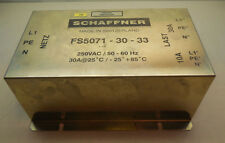 Schaffner FS5071-30-33 Noise Filter 250VAC/ 50- 60Hz 30A with 14 day warranty