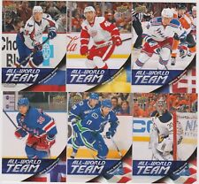 2011-12 Upper Deck Series 1 All World Team 6 Lot