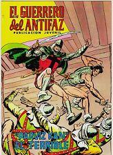EL GUERRERO DEL ANTIFAZ (Reedición color) nº: 131.  Valenciana, 1972-1978.