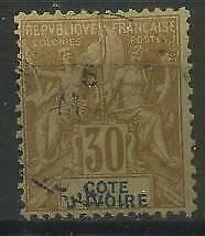 French Colonies, Cote d'Ivoire, Ivory Coast 1892 Michel 9 used