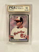 1985 Donruss Cal Ripken Jr. #169 FGA 10 Gem Mint
