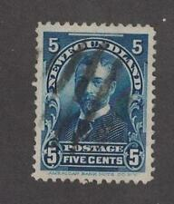 Newfoundland 85 - George V 5 Cent.  Used.   #02 NEW85u