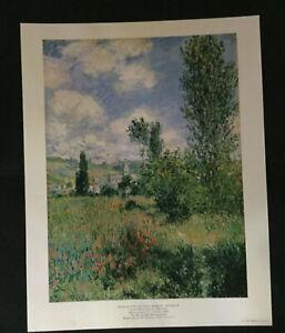 Path In The Ile Saint-Martin Vetheuil Monet The Metropolitan Museum of Art Print
