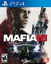 Mafia III - PlayStation 4 Brand New Ps4 Games Sony Factory Sealed 2016