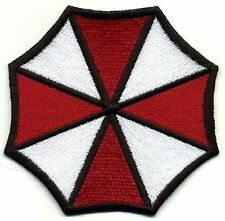 """Resident Evil Umbrella Corporation Fully Embroidered  3.75"""" Patch"""