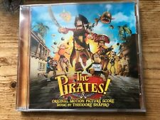 THE PIRATES! - BAND OF MISFITS (Shapiro) OOP 2012 Soundtrack Score OST CD SEALED