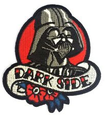Quality  Star Wars Darth Vader Dark Side Iron On Embroidered Patch Free P & P