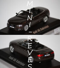 Norev Audi A5 Cabriolet 2012 Marron 1/43 830110