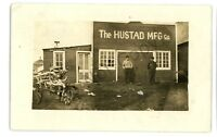 RPPC Hustad Mfg Co ORTLEY SD Roberts County Summit Vintage Real Photo Postcard