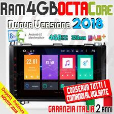 """AUTORADIO 9"""" ANDROID 8Core 4GB-RAM MERCEDES Classe B W245 A W169 VIANO VITO W..."""