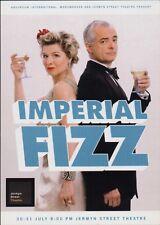 "ISSY VAN RANDWYCK Hand Signed ""Imperial Fizz"" Flyer BG.888"