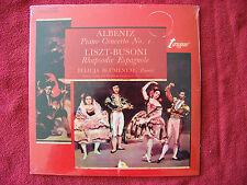 Albeniz - Piano Concerto No. 1 ;  Liszt-Busoni - Rhapsodie Espagnole LP  OVP NEU
