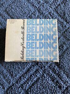 Belding Corticelli Nylon Twist Thread,  1224, Brown,  Full Box of 80