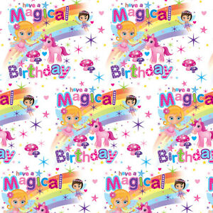 Unicorn Wrapping Paper Present Wrap For Girl 1st 2nd 3rd 4th 5th