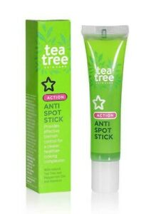 Tea Tree Anti-Spot Stick for Blemish Control/Acne/Spots, Cruelty-Free, Superdrug