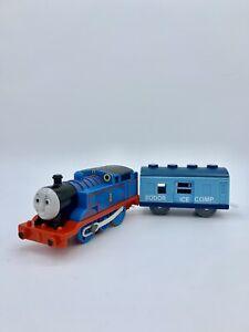 Thomas & Friends Train Trackmaster Engine Sodor Ice Company Blue Freight Car