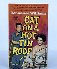 CAT ON A HOT TIN ROOF (Paperback, 1958) Elizabeth Taylor Movie Tie 1st PRINTING