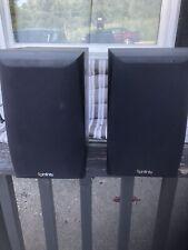 2 Infinity Primus 160 150 Watt 2 Way 49-20,000 Hz Bookshelf Speaker Pair Black
