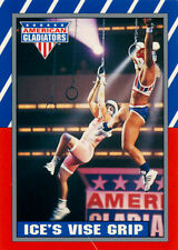 American Gladiators Card Set with Stickers