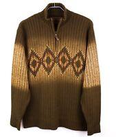 MARLBORO CLASSICS Men Jumper Cotton Wool Pullover Cardigan Sweater Size XL FZ417