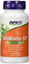 """Now Foods Allibiotic with Oregano Oil """" Origanum Vulgare """" - x60softgels"""