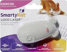 SmartyKat Loco Laser Light Pointer Interactive Exercise Toy for Cat - Gray