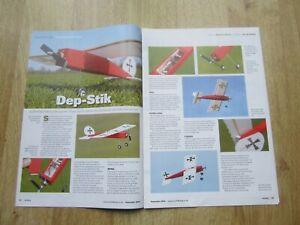 Dep-stik  Dep-stick  MODEL AIRCRAFT PLAN   RCM&E September 2015