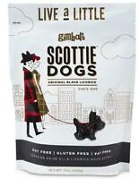 GIMBAL'S (12oz) Bag Scottie Dogs Black Licorice - 1 to 12 BAGS - Free Shipping