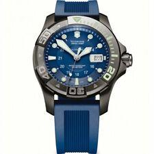 Victorinox Swiss Army Dive Master 500 Mechanical. Blue Dial. 241425 Gunmetal PVD