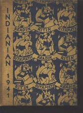 Montpelier IN Montpelier High School yearbook 1941 Indiana(includes grades 7-12)