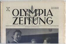 10.02.1936 OLYMPIA ZEITUNG Number 6 - Olympic Games Garmisch-Partenkirchen 1936